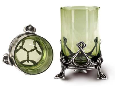 panák na Absinth La fee Verte Shot Glass ALCHEMY GOTHIC