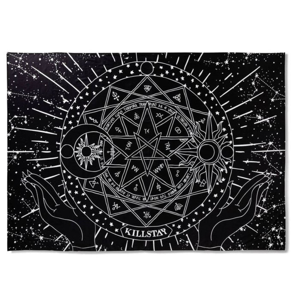 přehoz KILLSTAR - ASTROLOGY - BLACK - K-MIS-U-2455