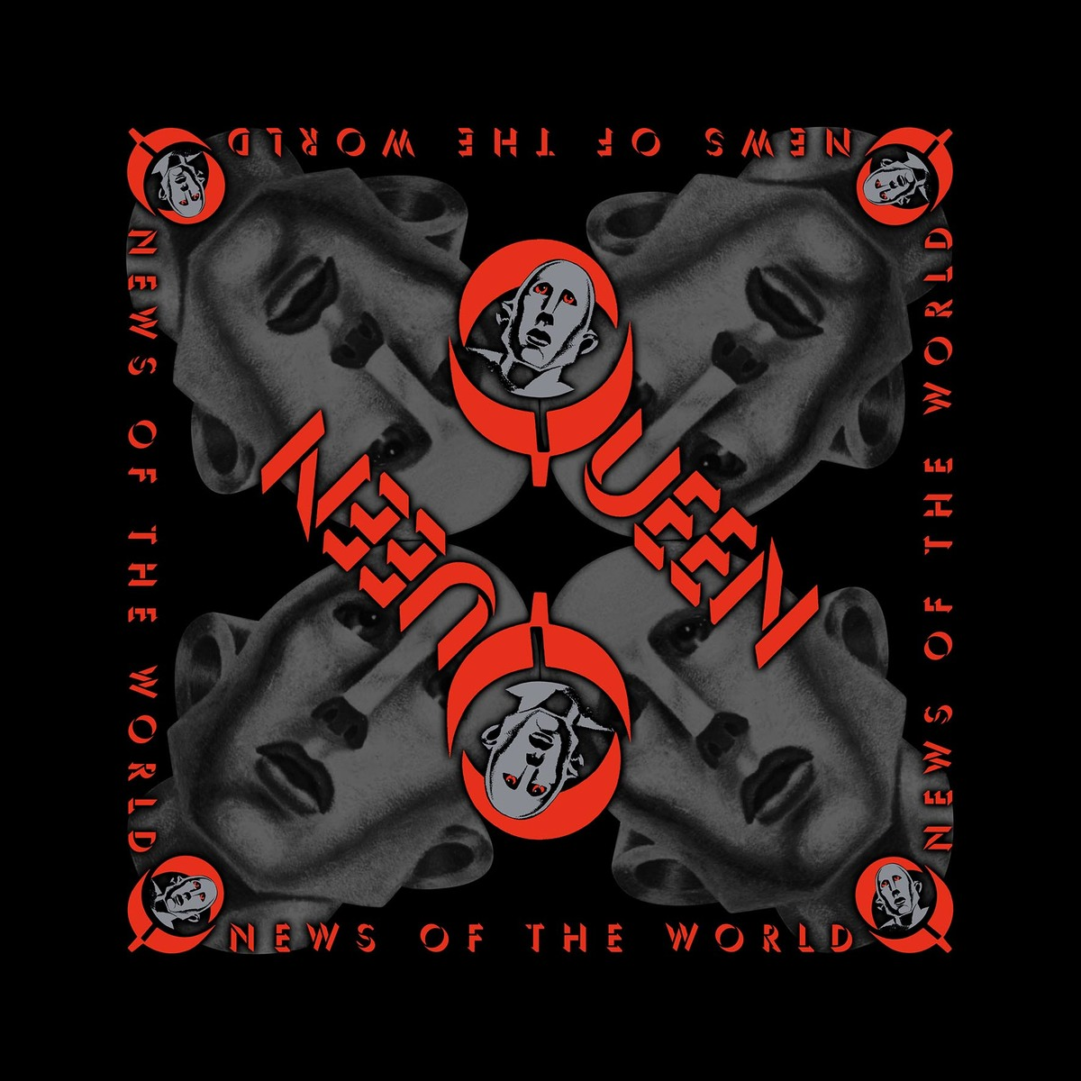 šátek Queen - News Of The World - RAZAMATAZ - B074