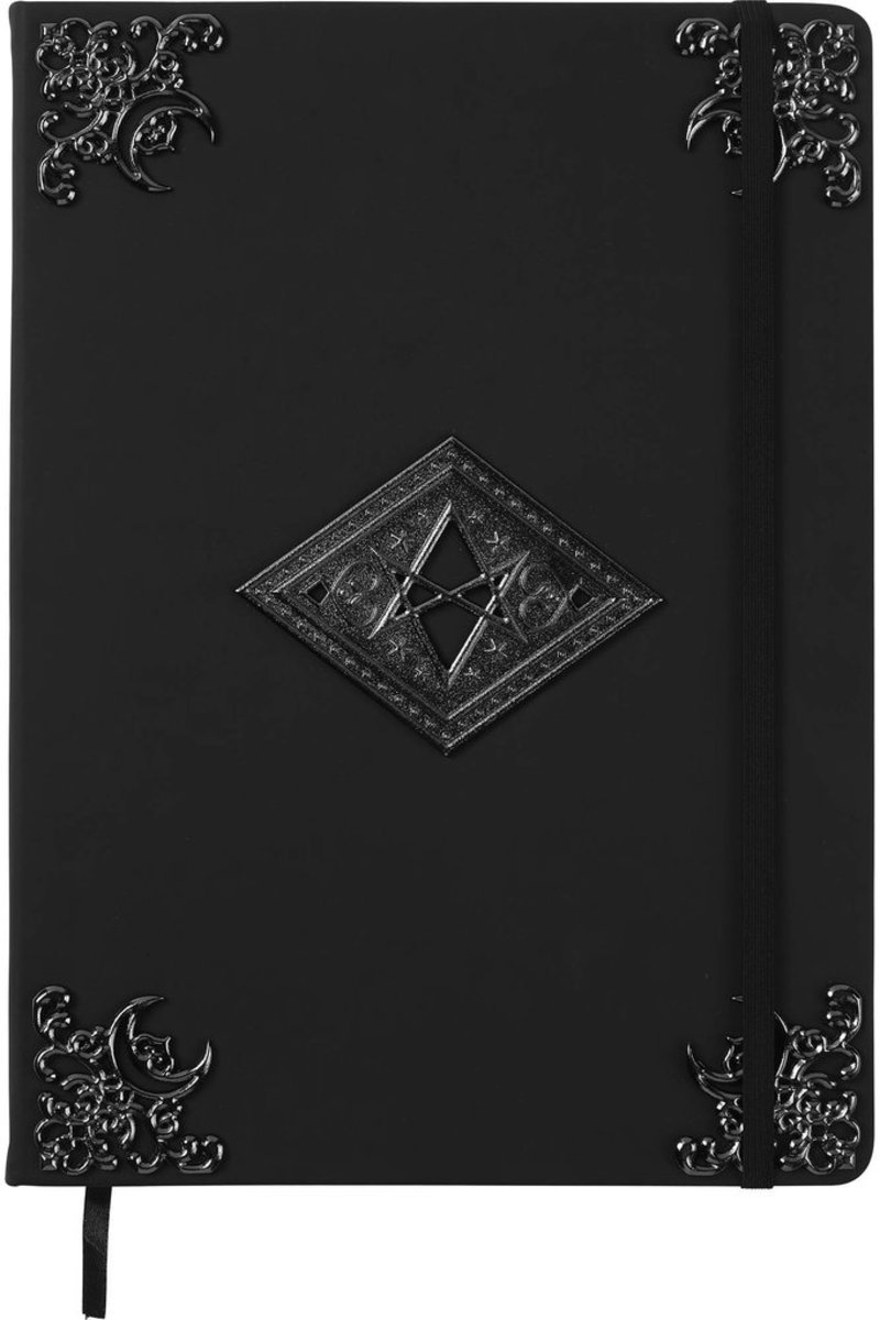 poznámkový blok KILLSTAR - Book Of Shadows - BLACK - KSRA000414