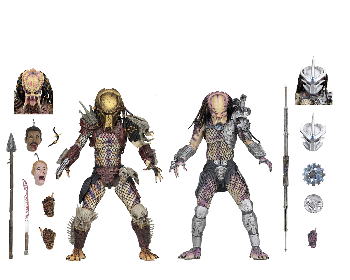 figurka (sada 2 kusů) Predator - Bad Blood & Enforcer - NECA51570