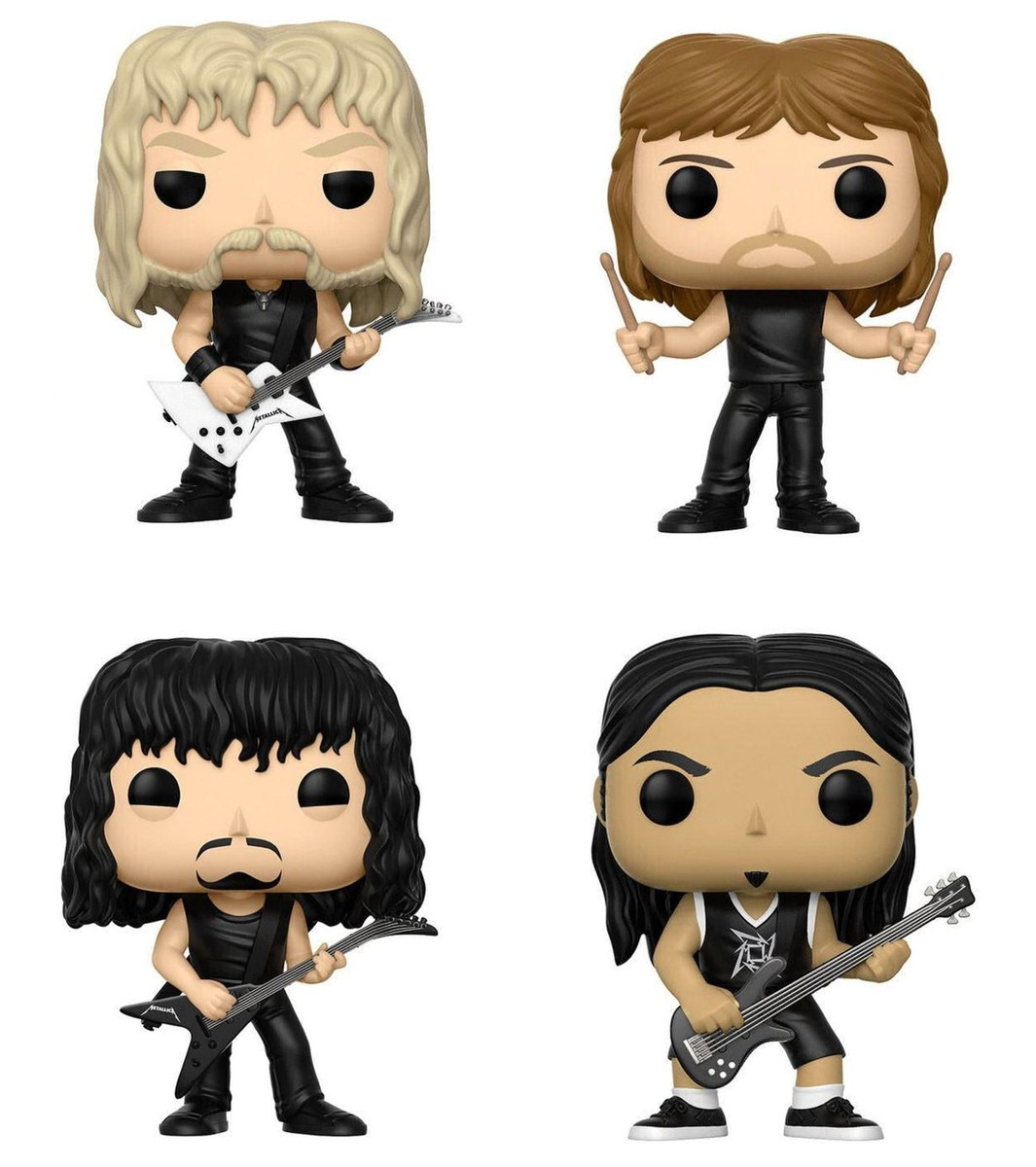 figurky (set) Metallica - Band - POP!