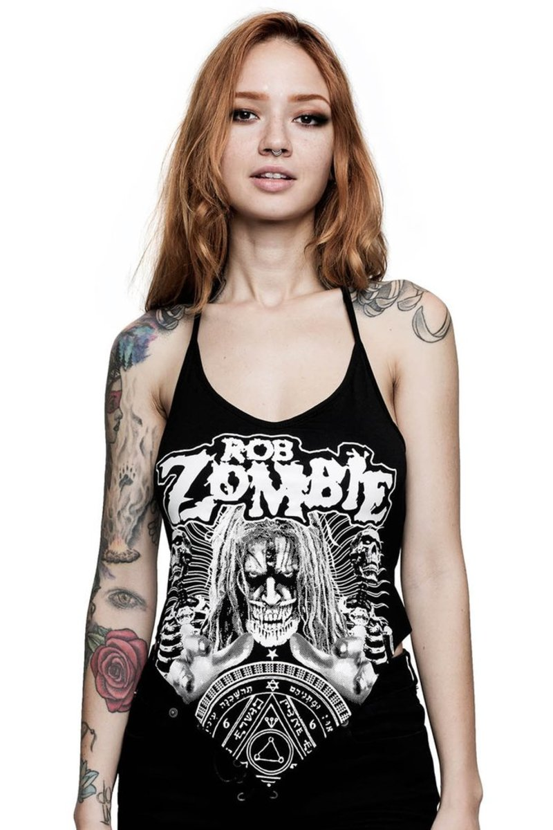 tílko dámské KILLSTAR - Rob Zombie - Channel X Rocker - BLACK - KSRA000740