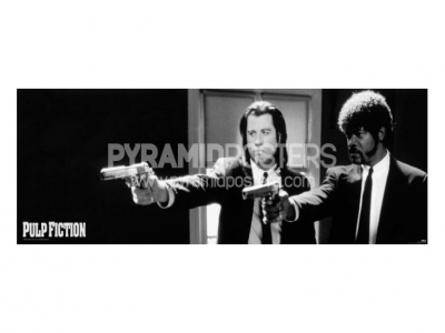 plakát - Pulp Fiction (B&W Guns) - CPP20107 - Pyramid Posters