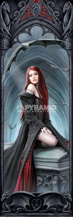 plakát Anne Stokes (Await The Night) - PYRAMID POSTERS - CPP20184