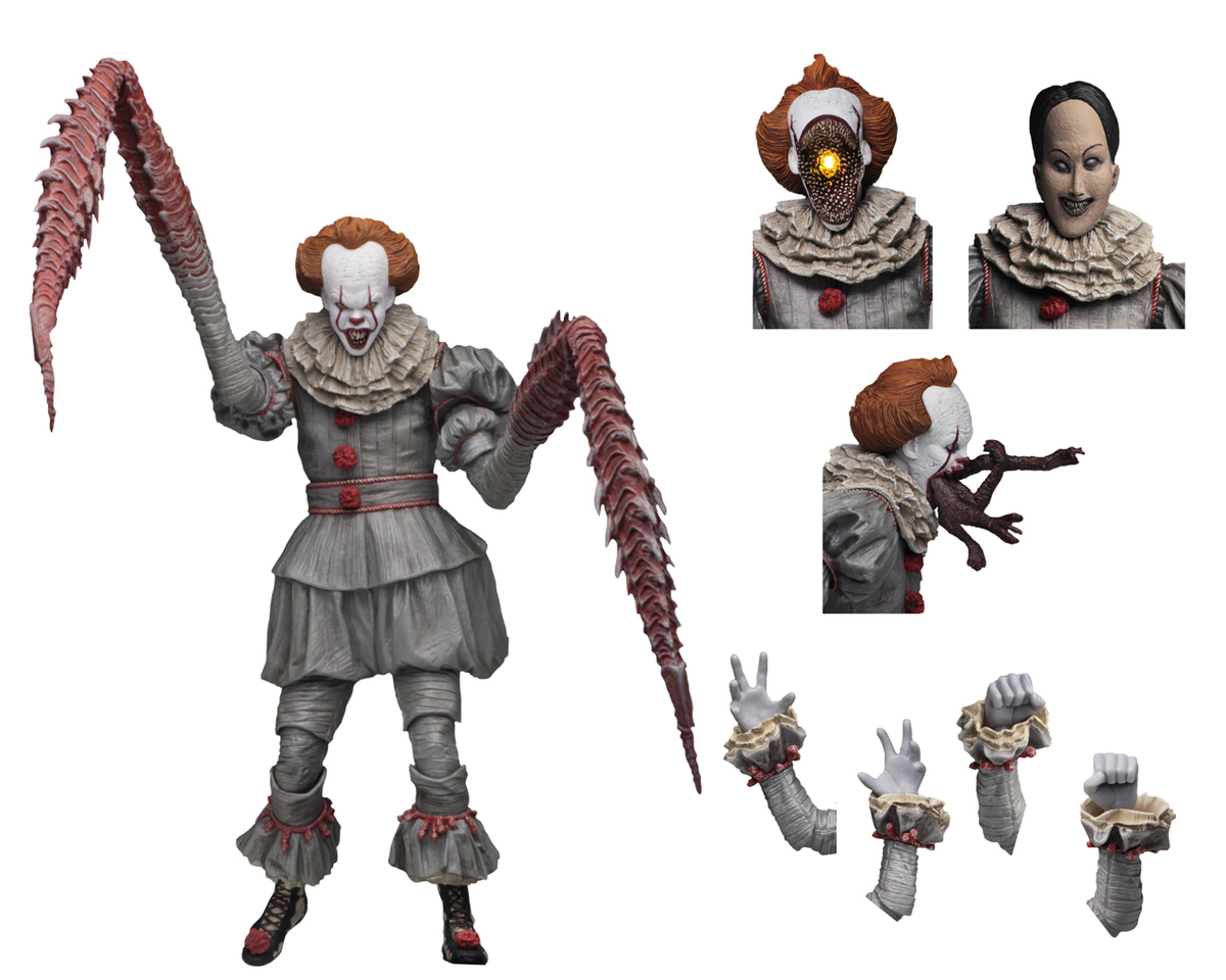 figurka TO - Stephen King - Pennywise - Dancing Clown - NECA45470