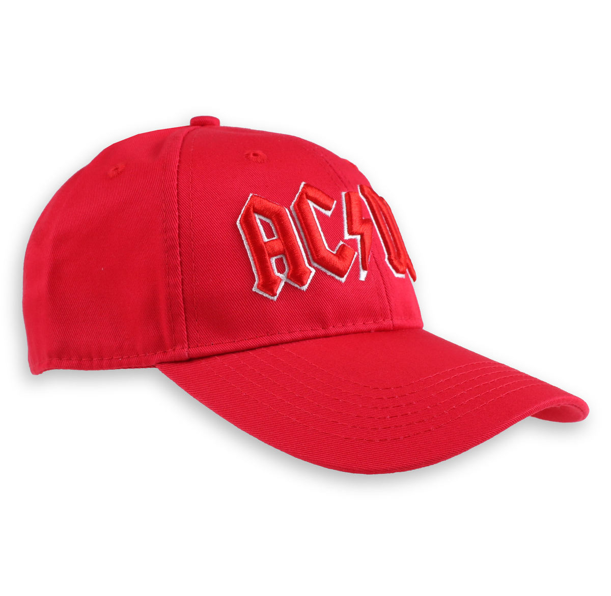 kšiltovka ACDC - Red Logo - ROCK OFF - ACDCCAP02R