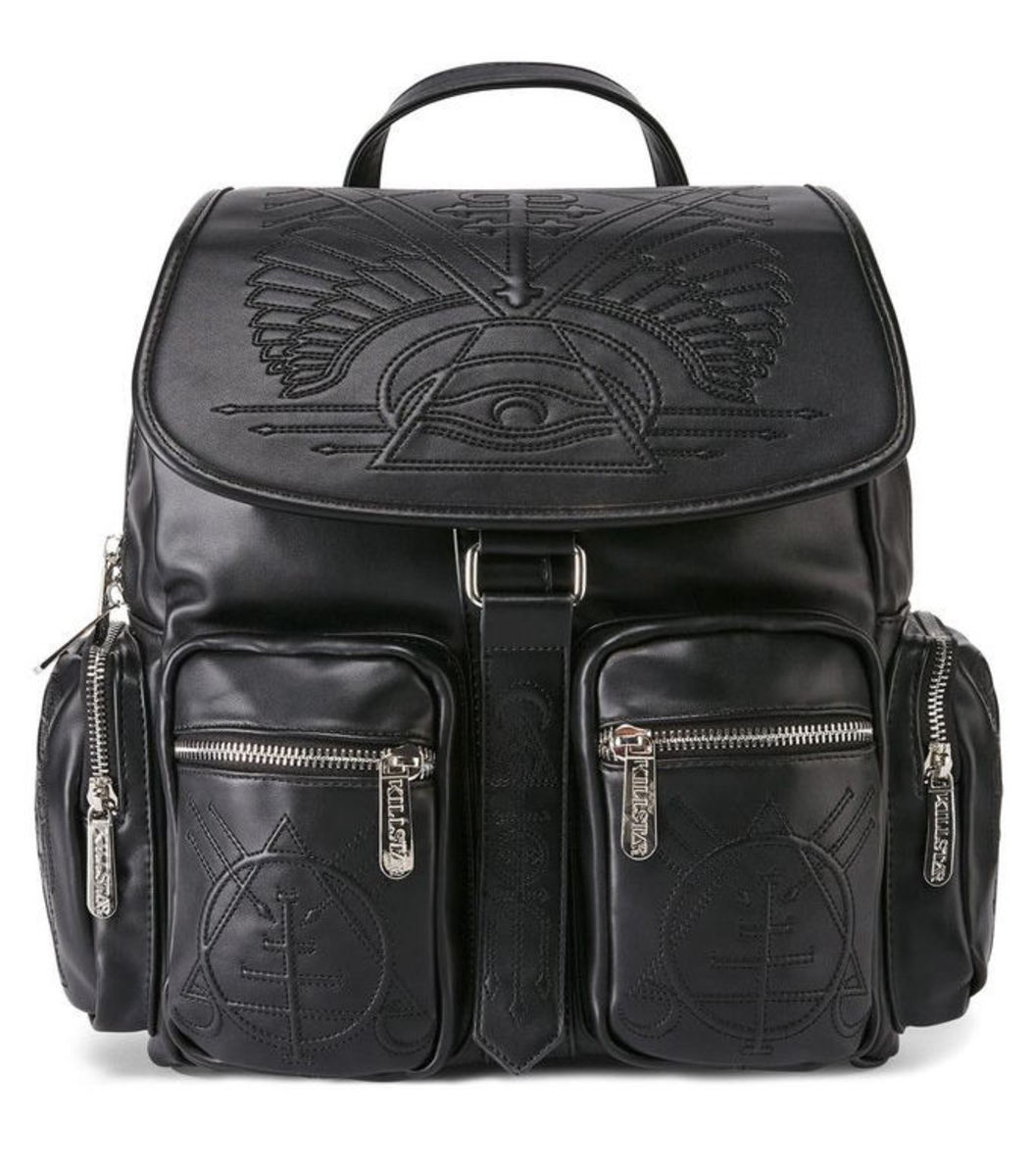 batoh KILLSTAR - Delirium - Black - K-BAG-M-2654