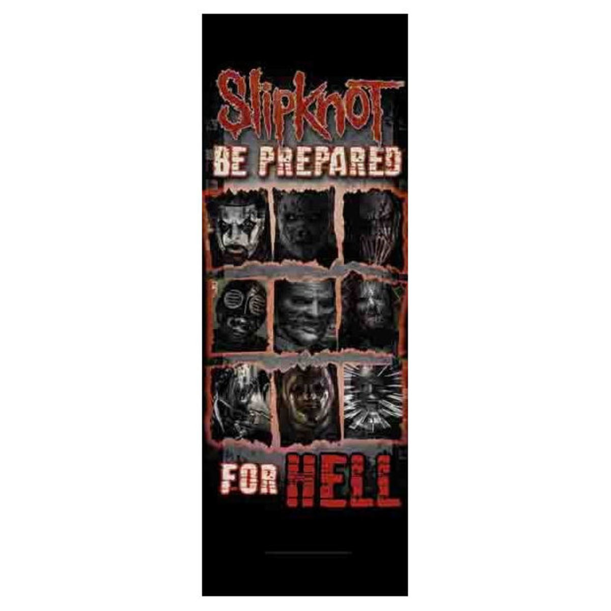 vlajka Slipknot - Be Prepared for Hell - DF024