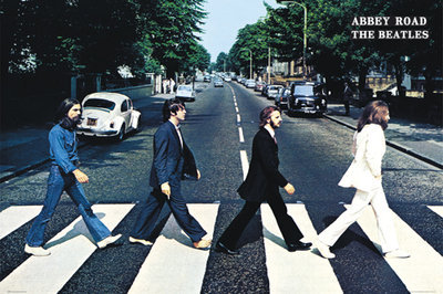 plakát The Beatles - Abbey Road - GB Posters - FL0342