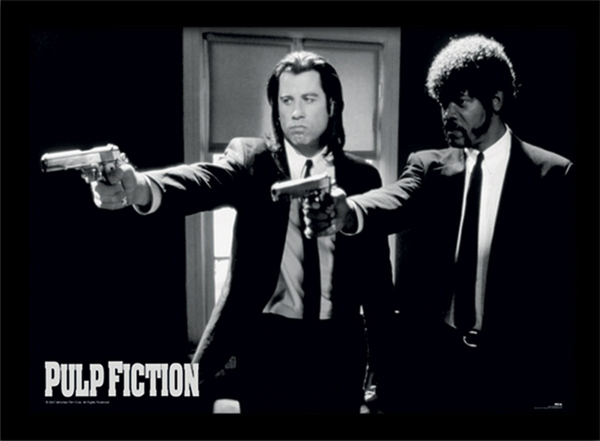 obraz Pulp Fiction - (Guns) - PYRAMID POSTERS - FP10328P
