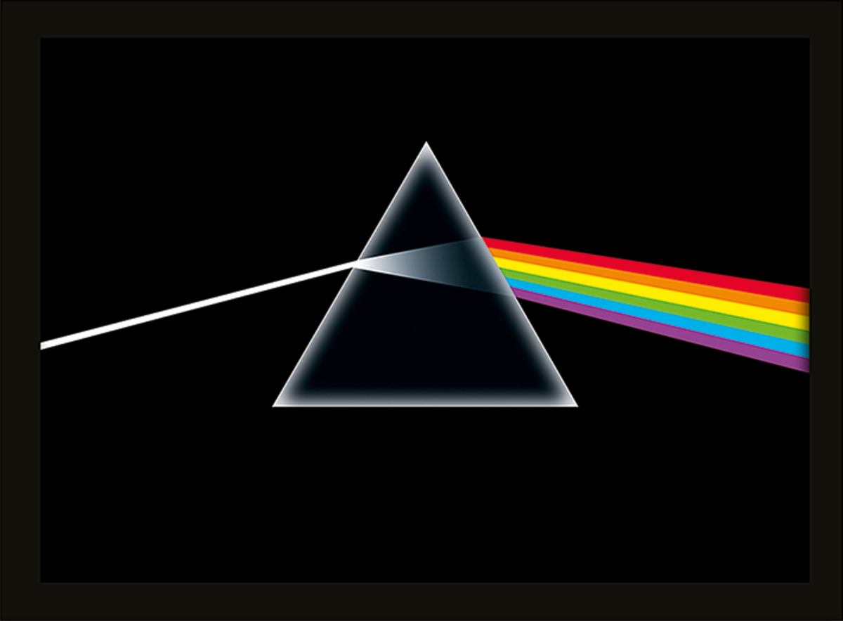 obraz Pink Floyd - (Dark Side of the Moon) - PYRAMID POSTERS - FP10346P