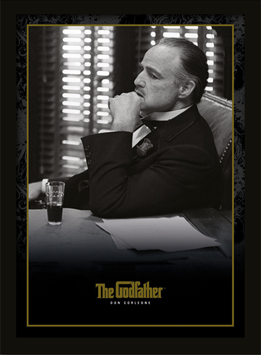 obraz Kmotr - The Godfather - Don Corleone - PYRAMID POSTERS - FP10690P