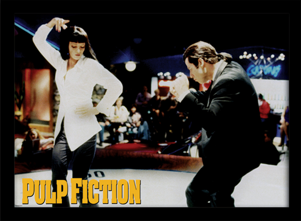 obraz Pulp Fiction - (Dance) - PYRAMID POSTERS - FP10774P