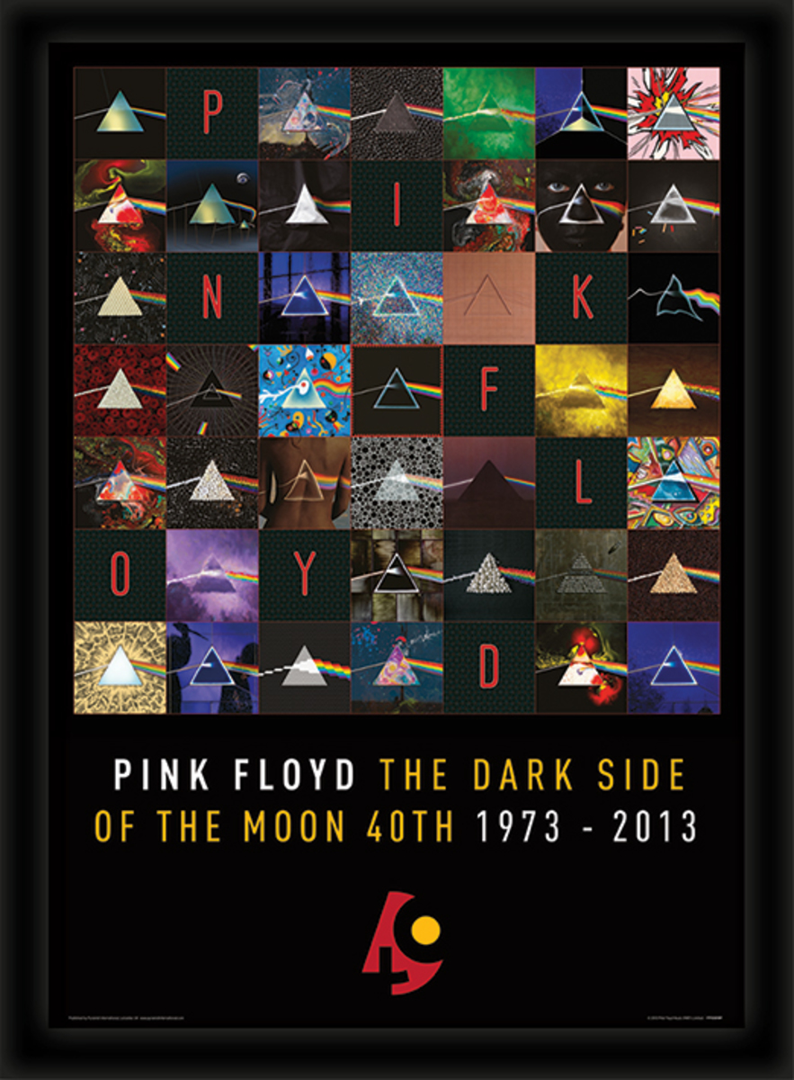 obraz Pink Floyd - (Dark Side Of The Moon 40th Anniversary) - PYRAMID POSTERS - FP10819P