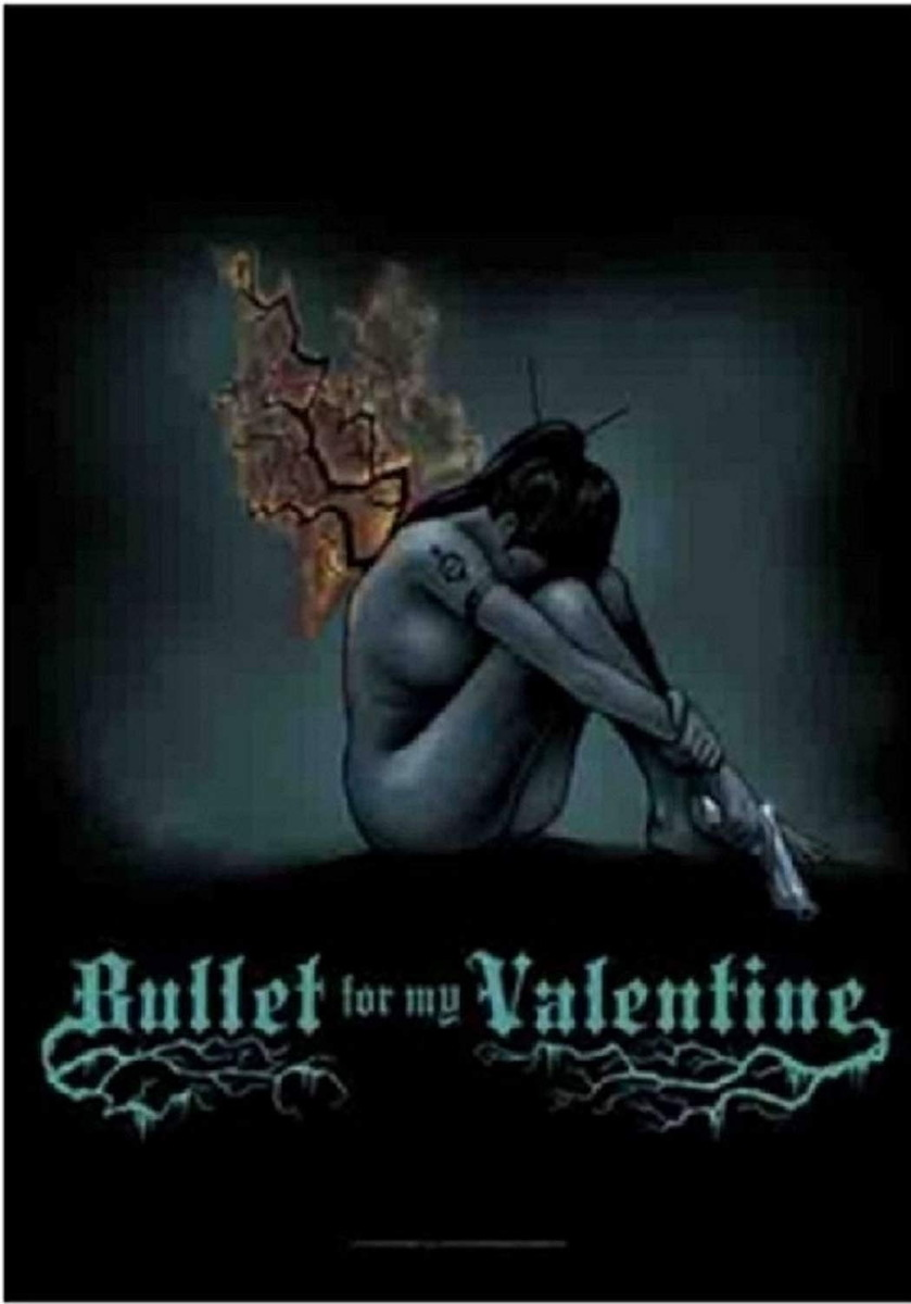 vlajka Bullet For My Valentine - Burning Wings - HFL1066