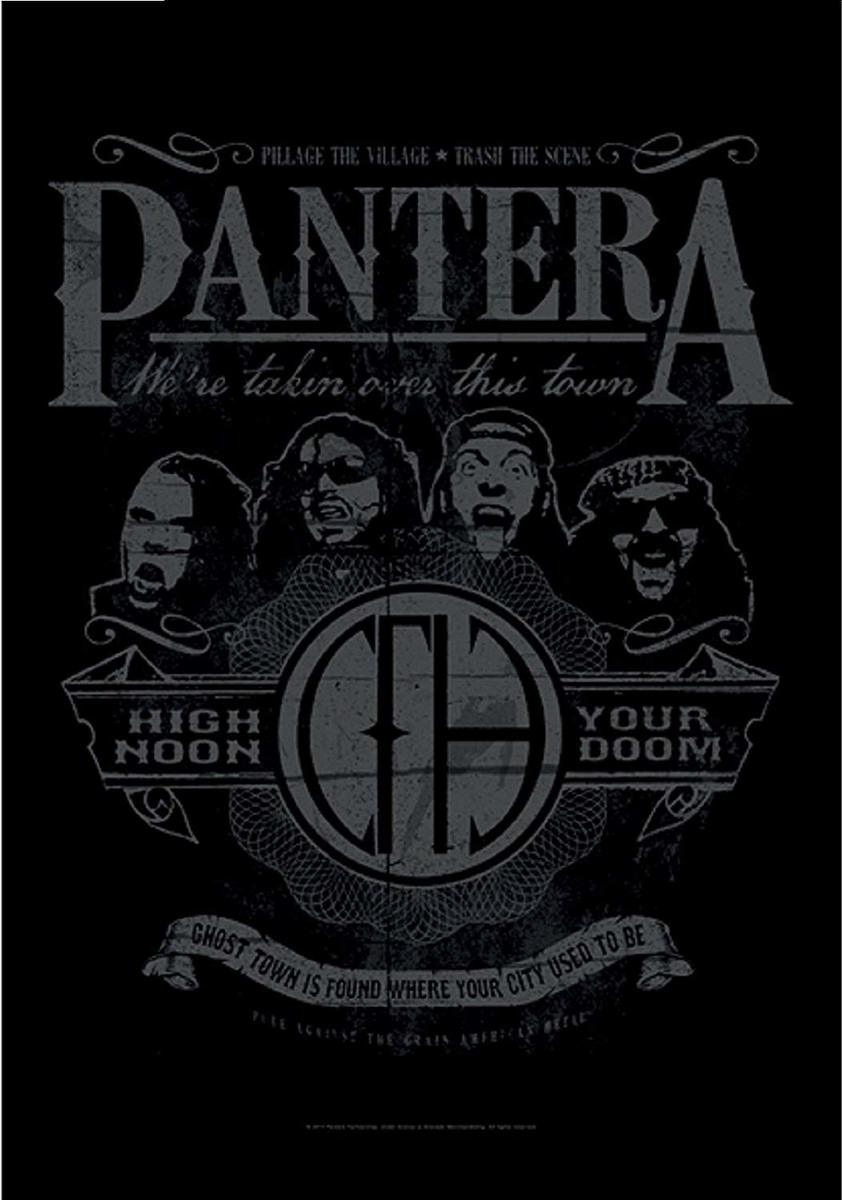 vlajka Pantera - High Noon Your Doom - HFL1134