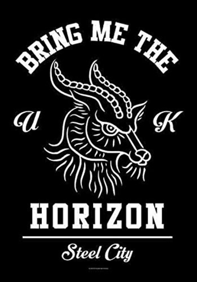 vlajka Bring Me the Horizon - Goat - HFL1172