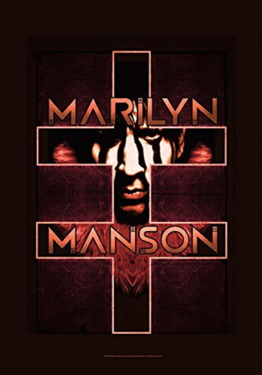 vlajka Marilyn Manson - Double Cross - HFL1174