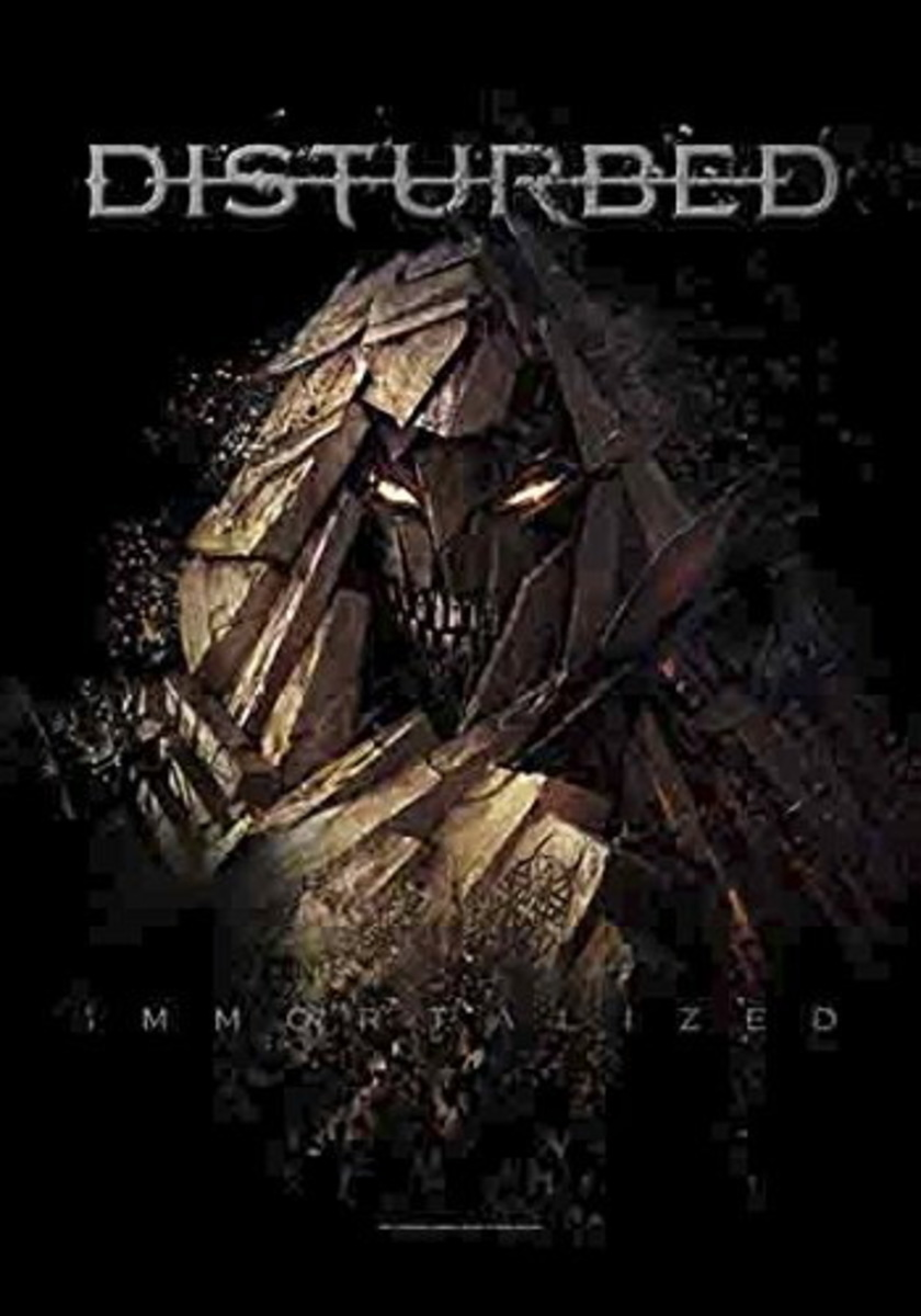 vlajka Disturbed - Shattered - HFL1195