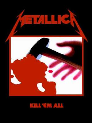 vlajka Metallica - Kill´Em All - HFL0190