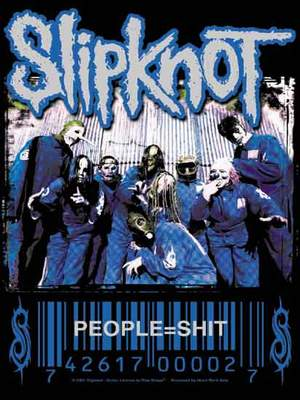 vlajka Slipknot - People=Shit - HFL0338