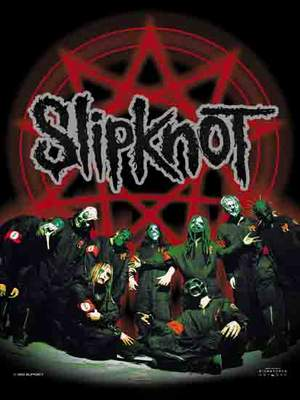 vlajka Slipknot - Below Pentagram In Circle - HFL0529