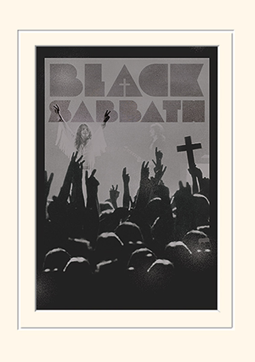 obraz Black Sabbath - (Cross) - PYRAMID POSTERS - LMP10802P
