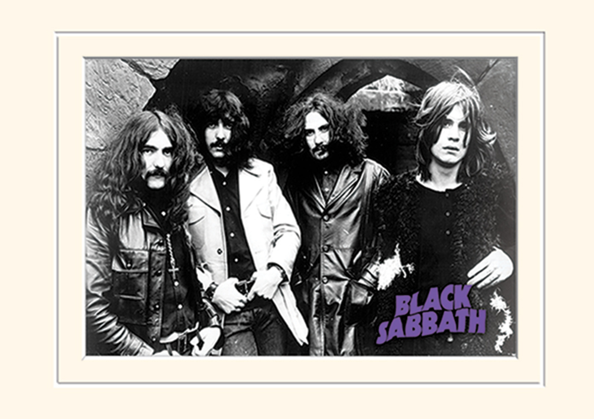 obraz Black Sabbath - (Photo) - PYRAMID POSTERS - LMP10804P