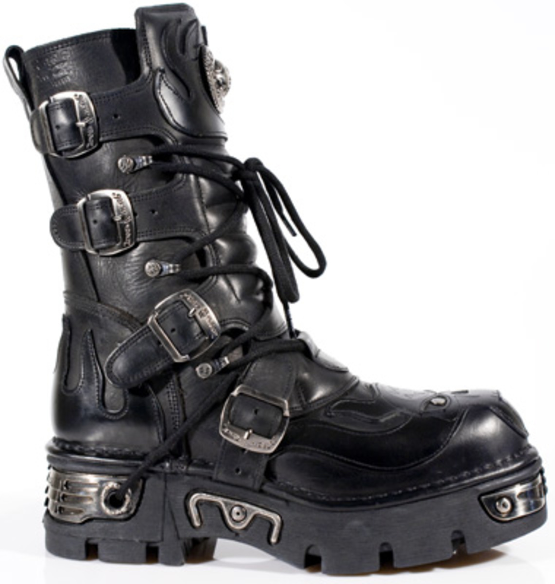 boty New rock - Vampire Boots (107-S3) Black