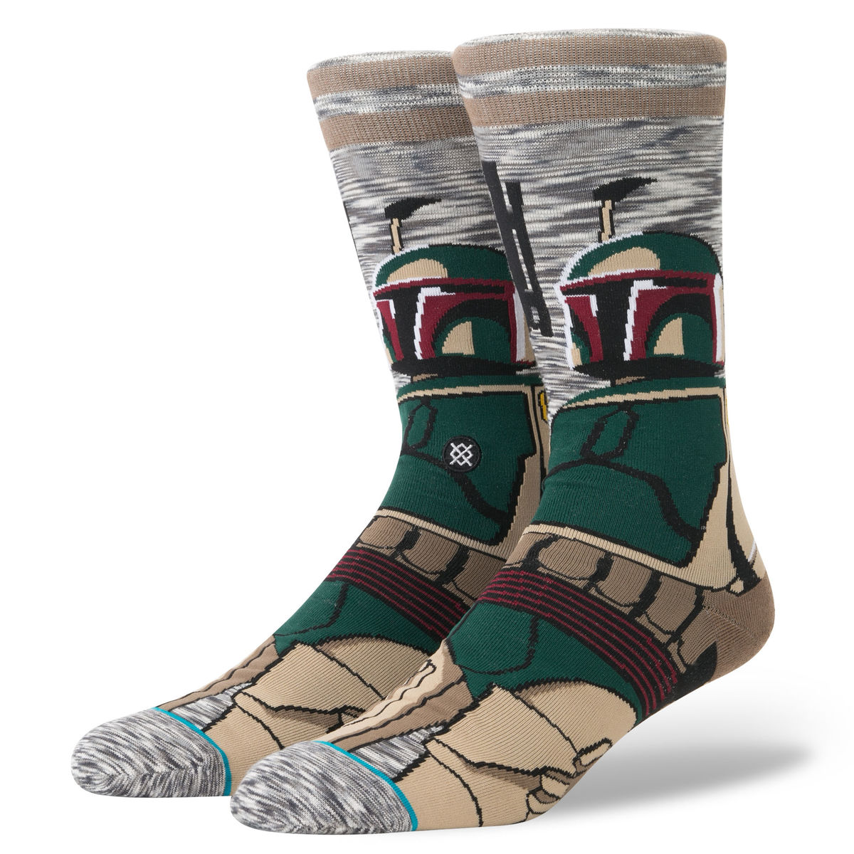 ponožky STAR WARS - BOUNTY - HUNTER GREY - STANCE - M545D17BOU-GRY
