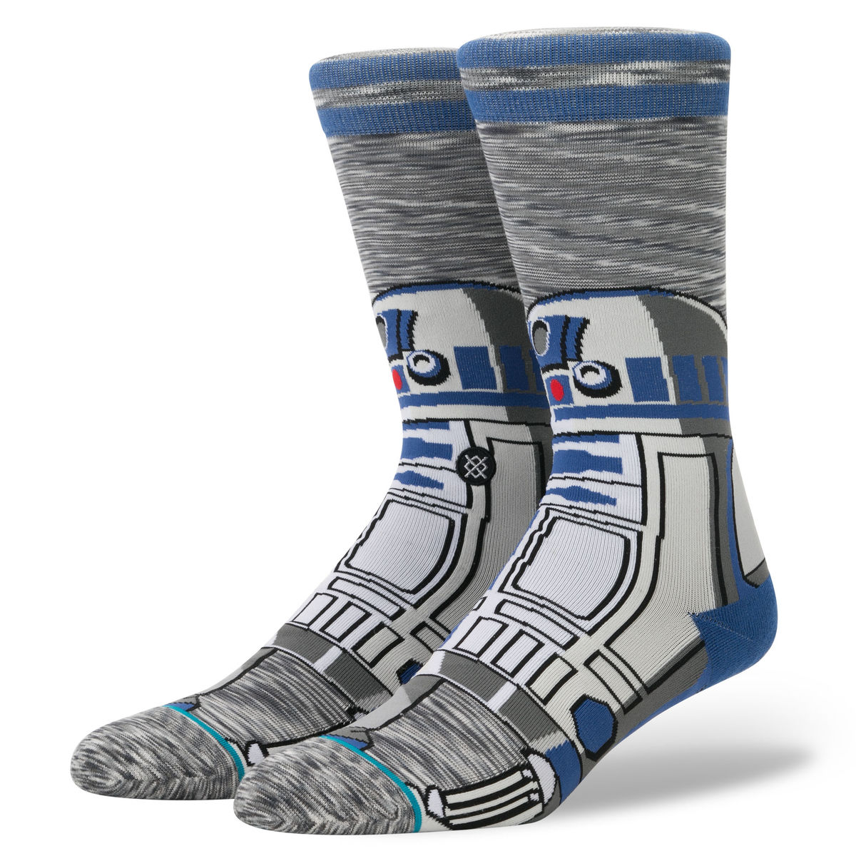 ponožky STAR WARS - R2 UNIT - GREY - STANCE - M545D17R2U-GRY