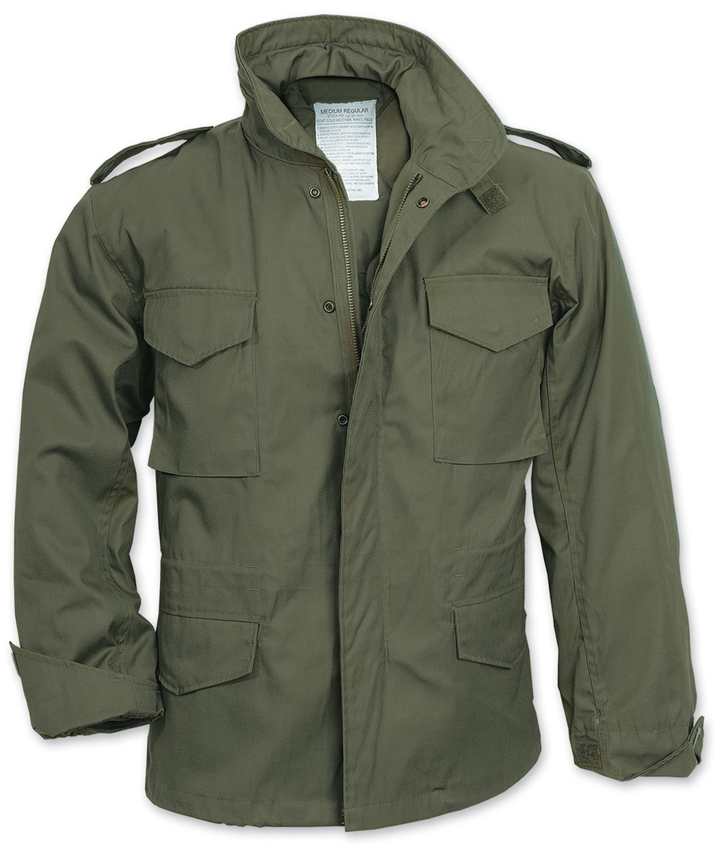 bunda zimní - FIELDJACKET M 65 - SURPLUS - 20-3501-91