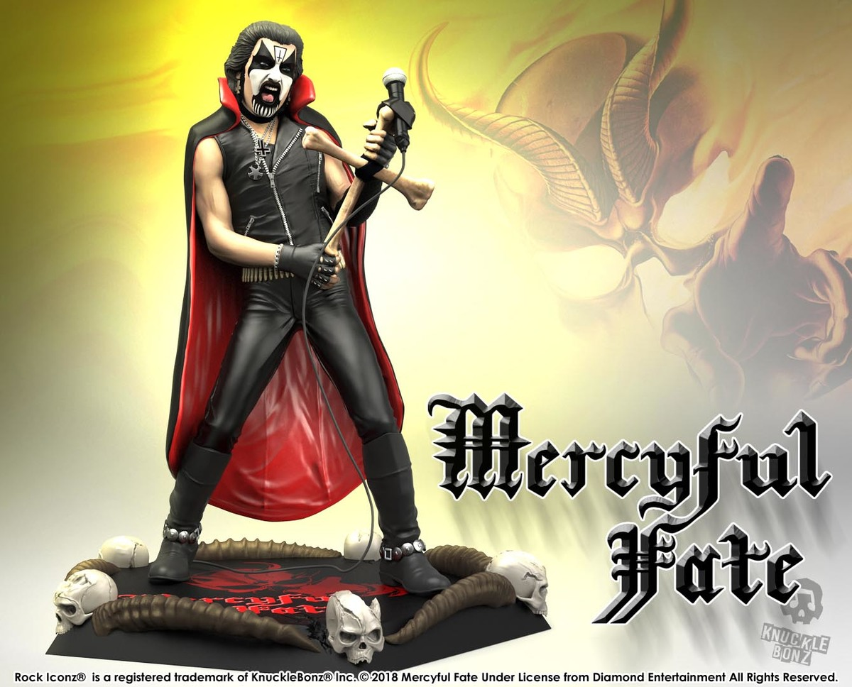 figurka Mercyful Fate - King Diamond - KNUCKLEBONZ - KBKING200