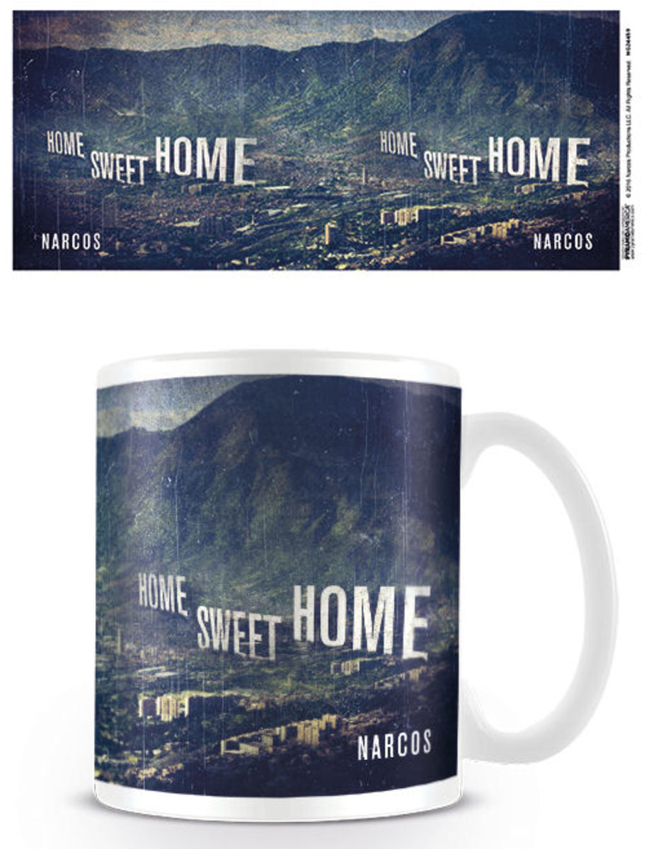 hrnek Narcos - Home Sweet Home - PYRAMID POSTERS - MG24459