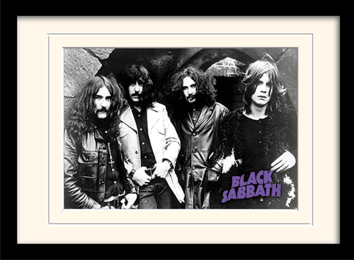 obraz Black Sabbath - (Photo) - PYRAMID POSTERS - MP10804P