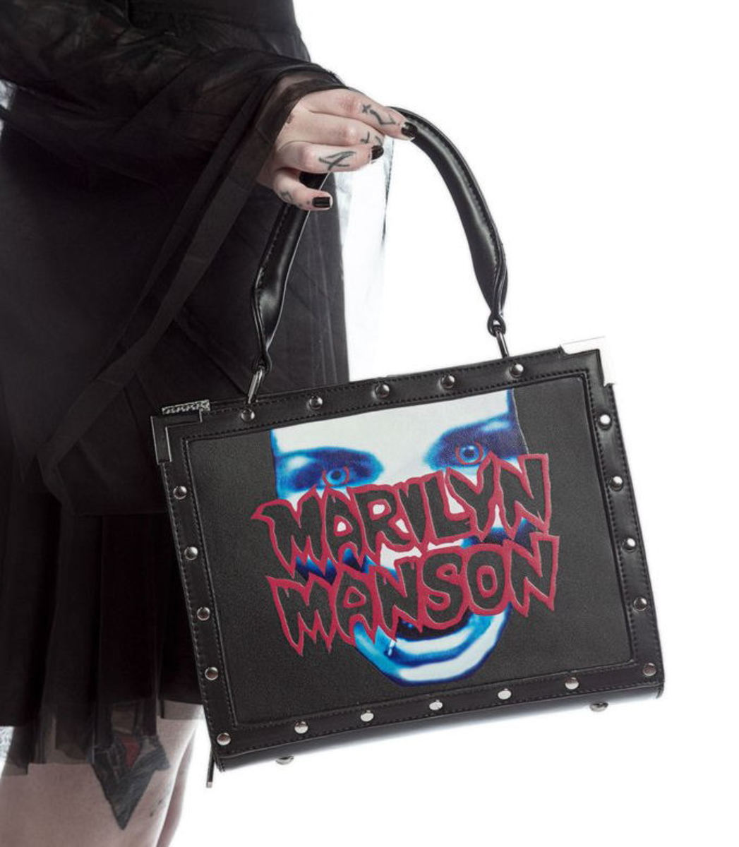 kabelka (taška) KILLSTAR - MARILYN MANSON - My Metal - Black - K-BAG-F-2496