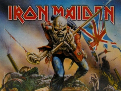 vlajka Iron Maiden - Trooper - HFL663