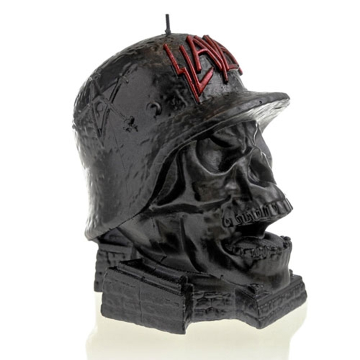 svíčka SLAYER - WEHRMACH - BLACK METALLIC - PLASTIC HEAD - PHCAND024