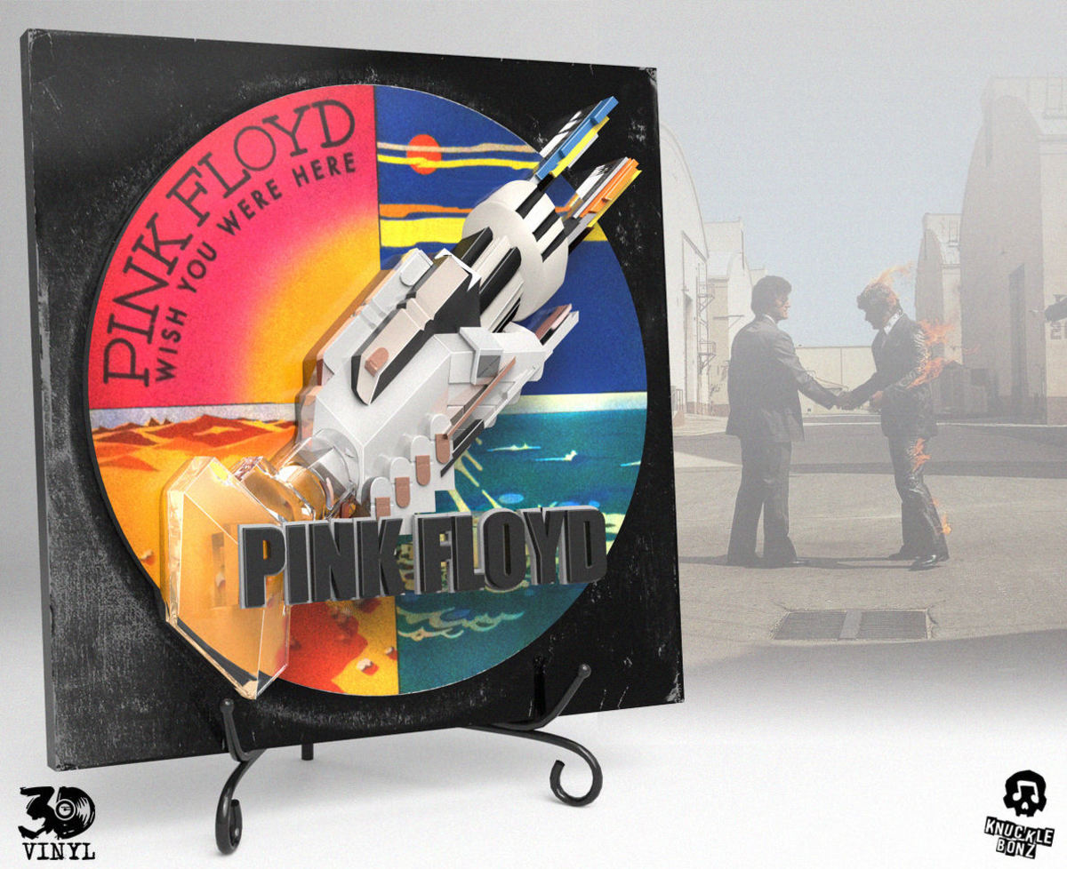 dekorace Pink Floyd - Wish You Were Here - KNUCKLEBONZ - KB3DVPINKFL100