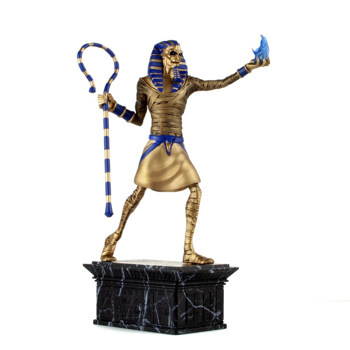 figurka Iron Maiden - Legacy of the Beast - Powerslave Eddie Golden Idol - IMC-0801-A