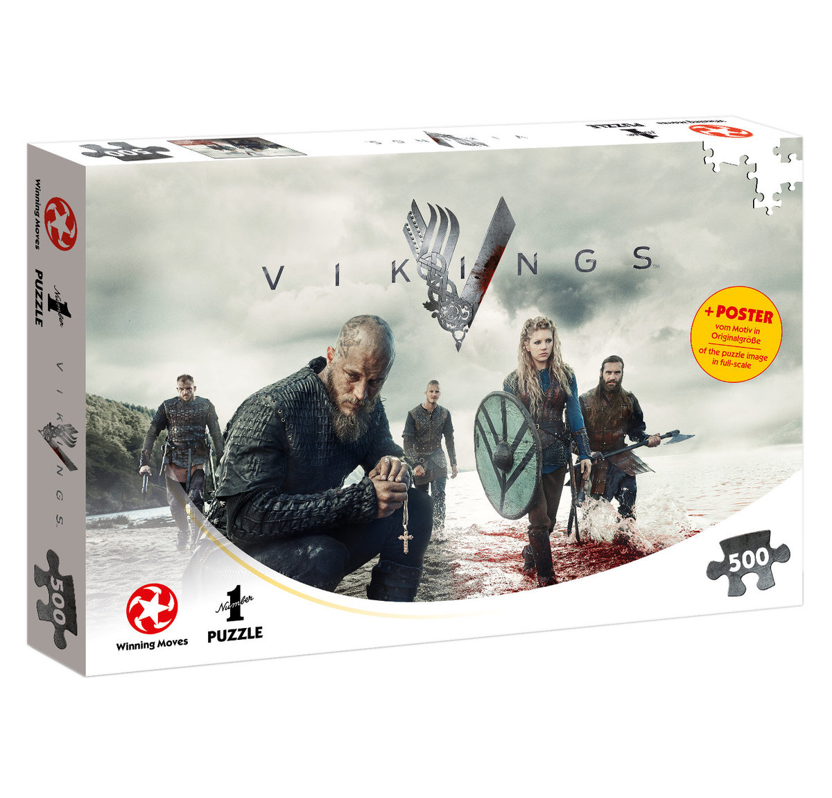 puzzle Vikingové - The World Will be Ours - WIMO11514