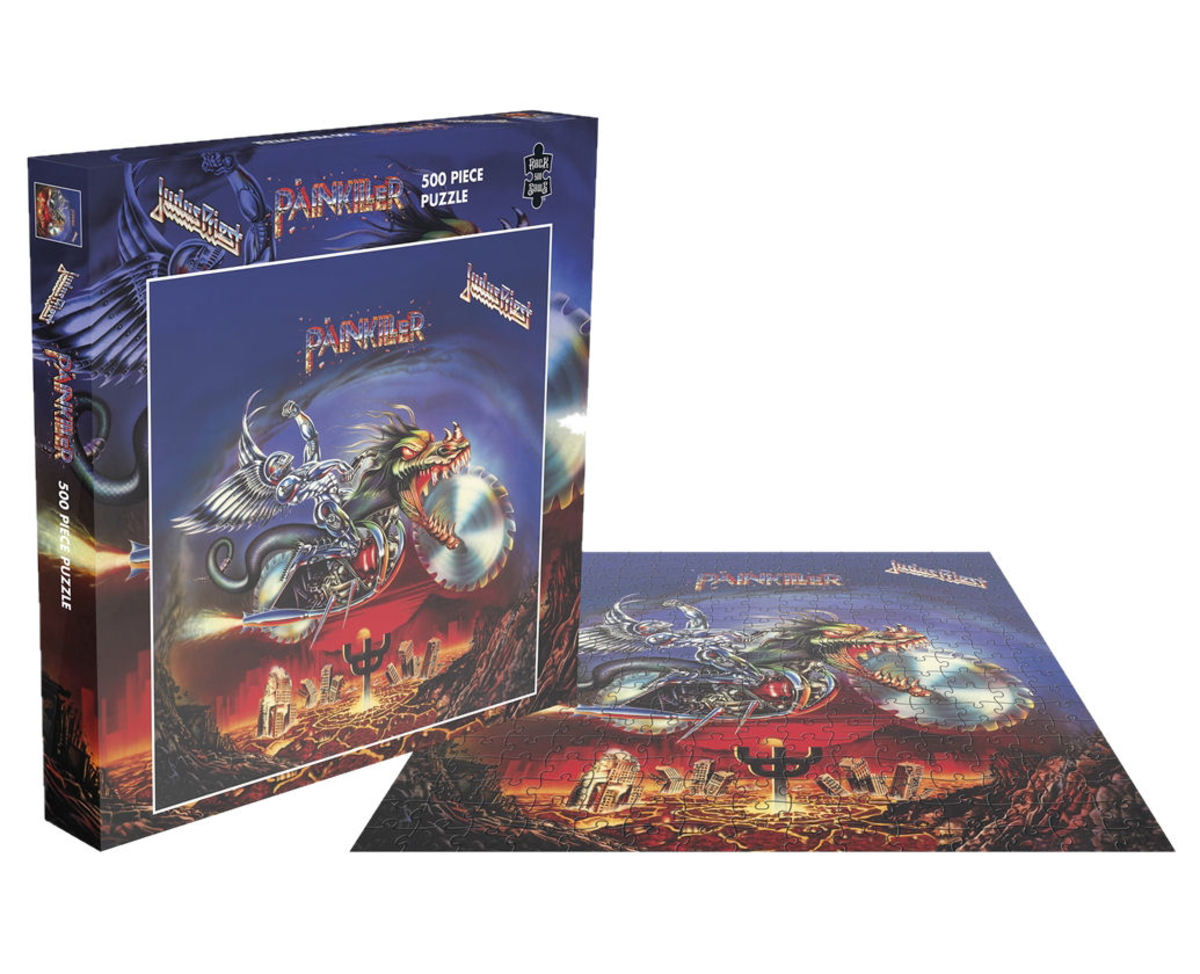 puzzle JUDAS PRIEST - PAINKILLER - PLASTIC HEAD - RSAW012PZ
