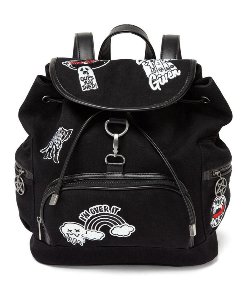 batoh KILLSTAR - Spektra 90's - BLACK - K-BAG-F-2397
