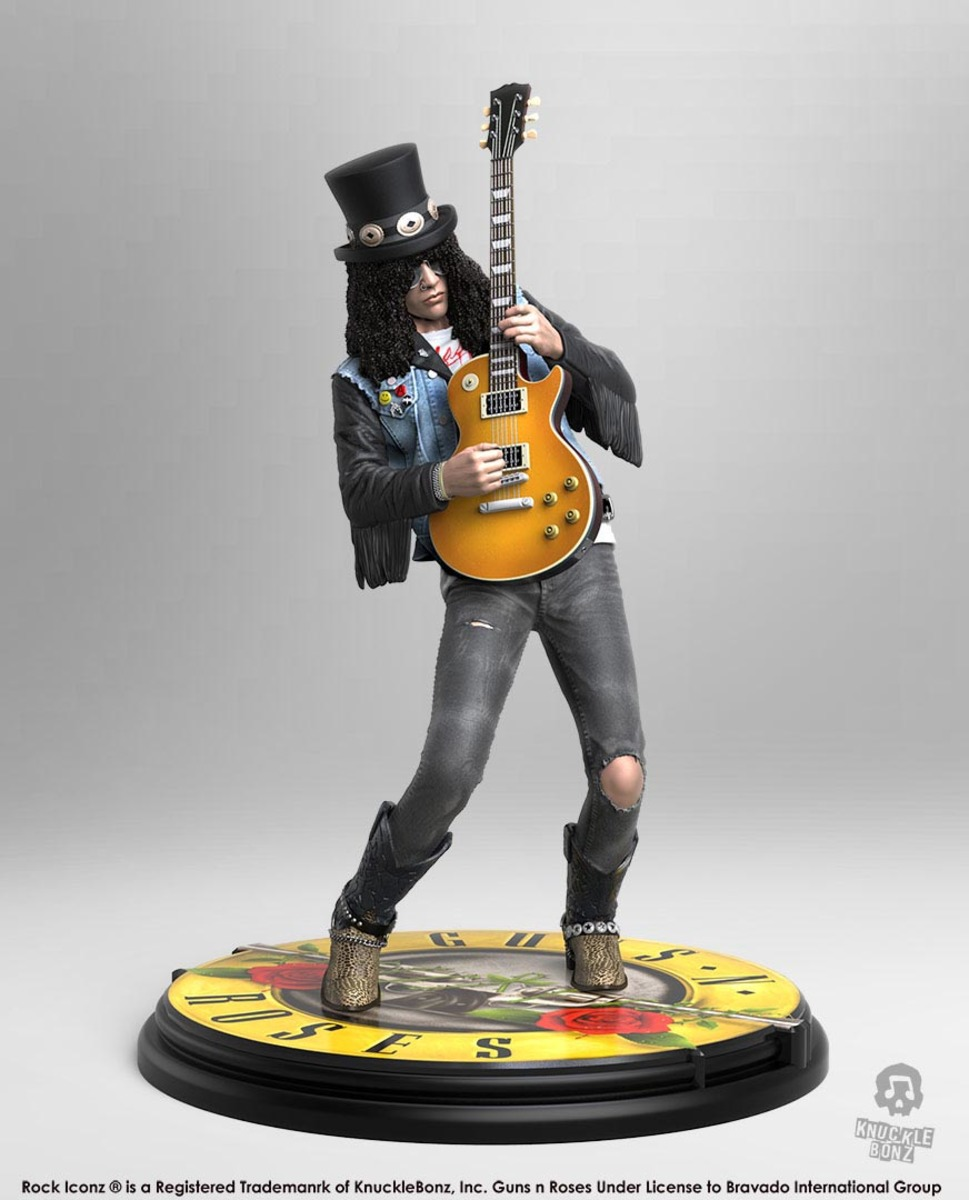 figurka Guns N Roses - Slash - Rock Iconz - KNUCKLEBONZ - KBGNRSL100