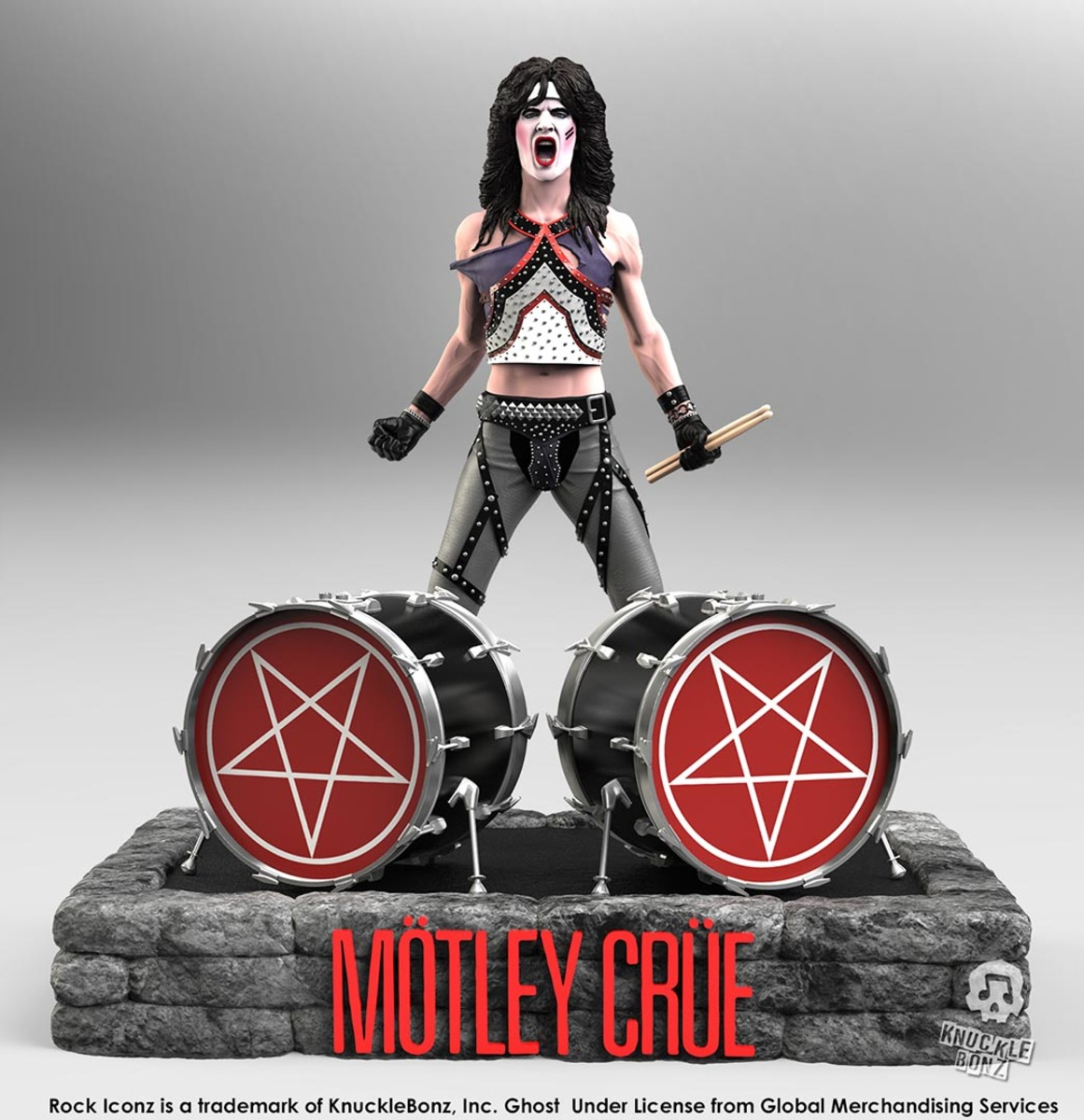 figurka Mötley Crüe - Tommy Lee - Rock Iconz - KNUCKLEBONZ - KBMCTL100