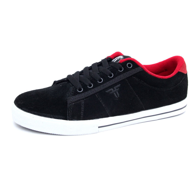 boty pánské FALLEN - Bomber - Black/Red/Jamie Thomas - 41070049