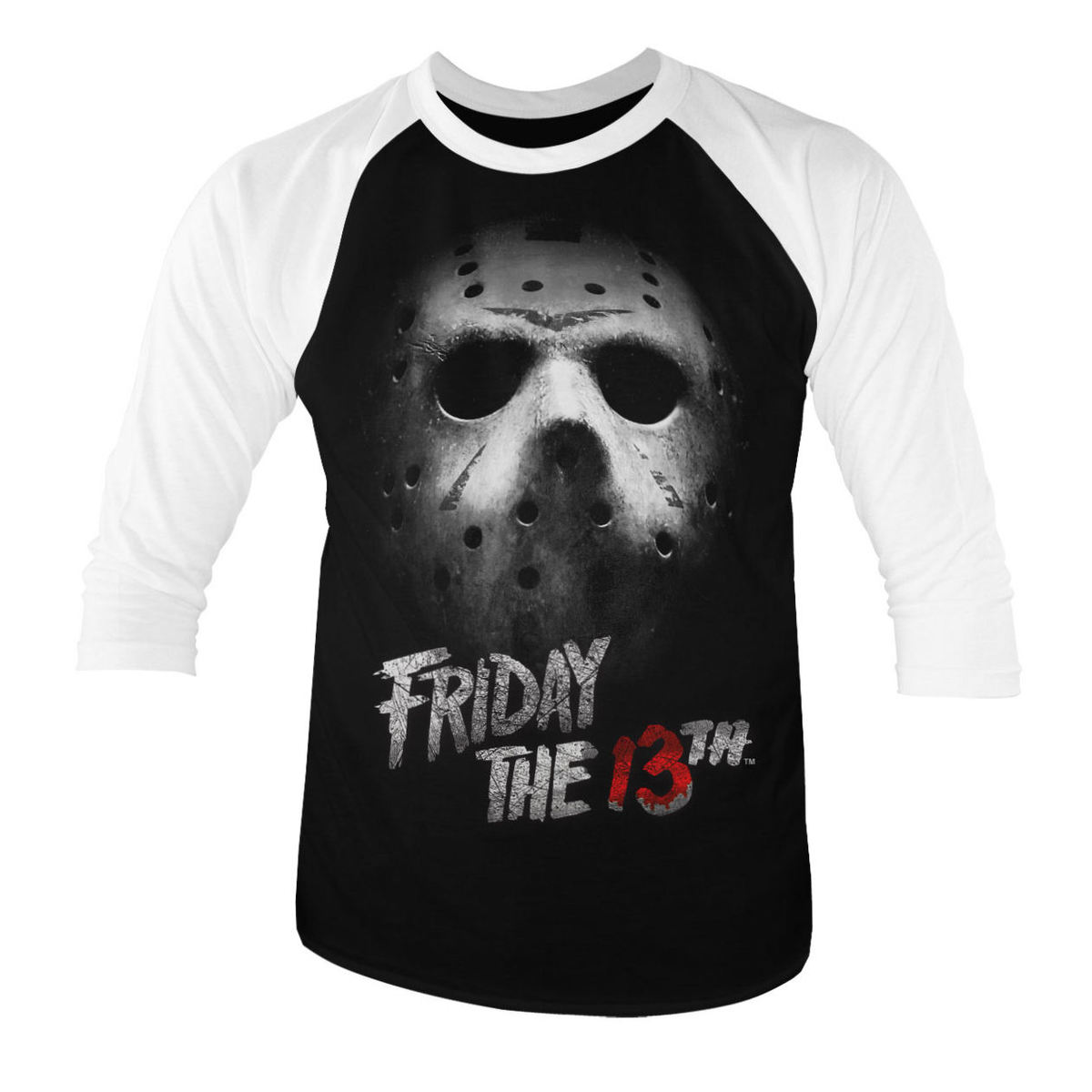 HYBRIS Friday the 13th White černá