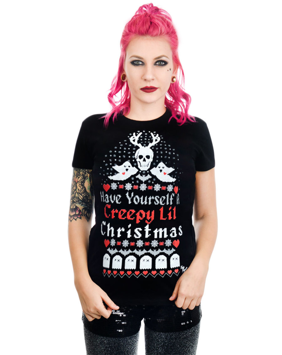 tričko dámské TOO FAST - HAVE YOURSELF A CREEPY LIL CHRISTMAS BABYDOLL - WTBD-T-CRELIL
