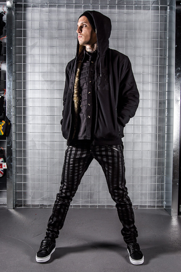 boty pánské VANS - Chukka Low - Black Leather/Dark Grey - VNKA6I5